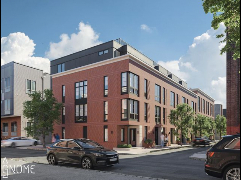 Rendering of 2001-13 Abigail Street. Credit: Gnome Architects.