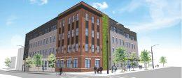 Rendering of 813 North Broad Street. Credit: Landmark Architectural Design.