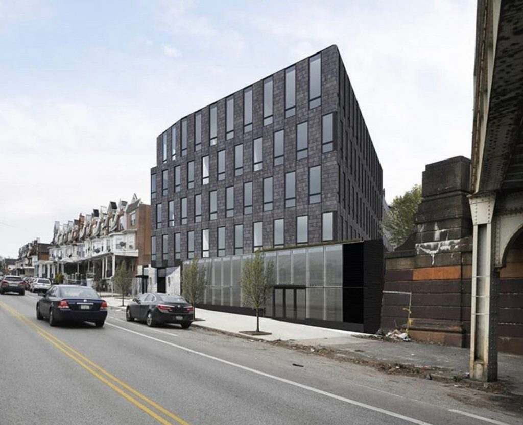Rendering of 5013 Springfield Avenue. Credit: Ambit Architecture.