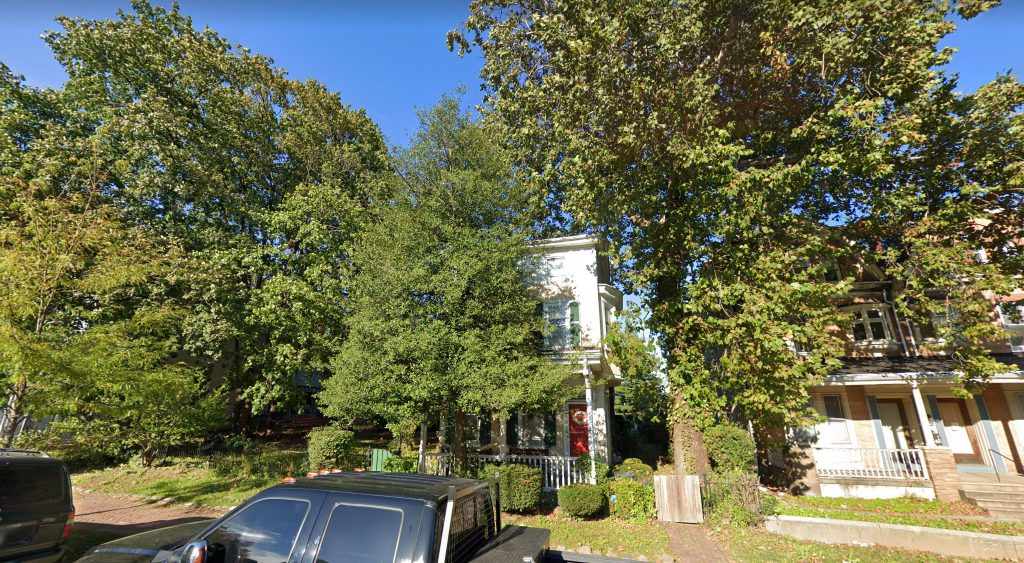 Current view of 5139 Wayne Avenue. Credit: Google.