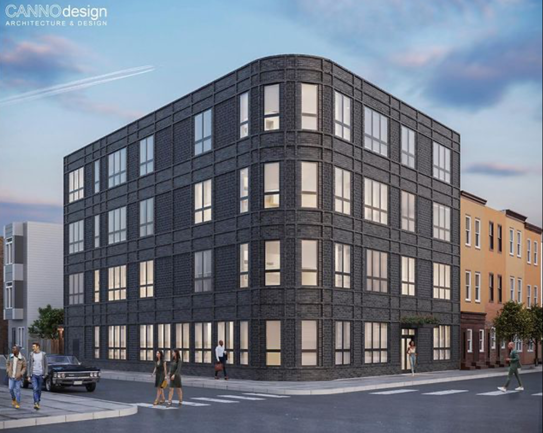 Rendering of 2400-04 Frankford Avenue. Credit: Canno Design.