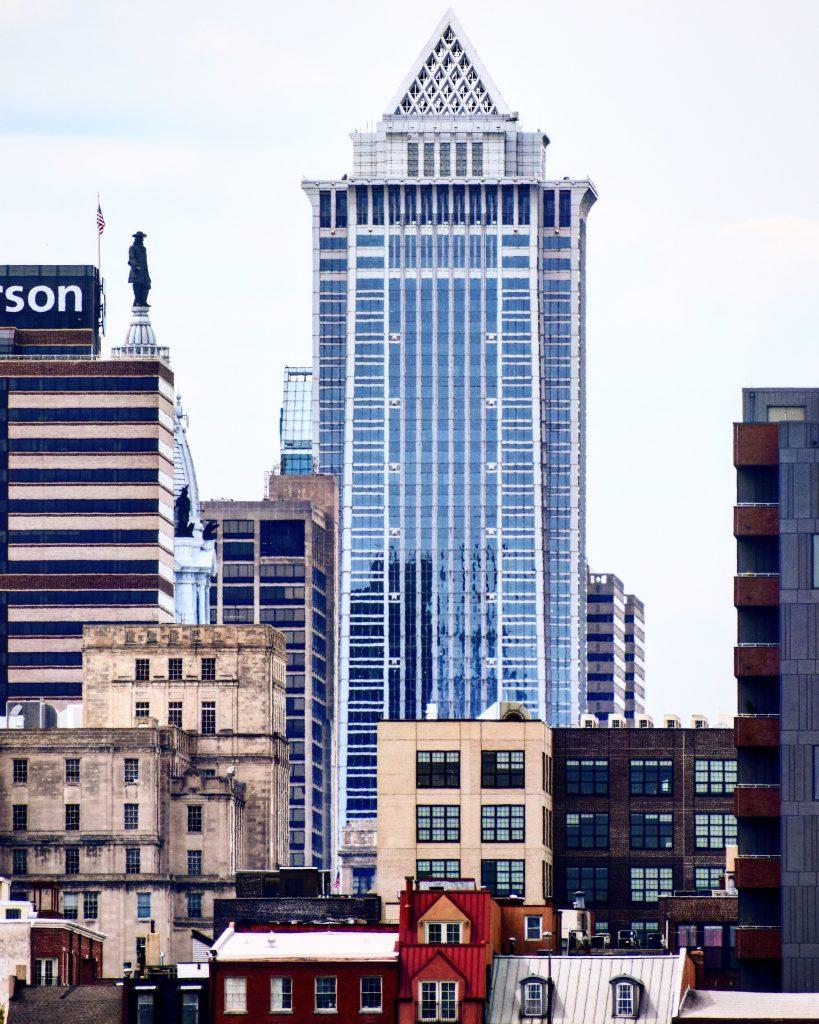 Mellon Bank Center from Camden. Photo by Thomas Koloski