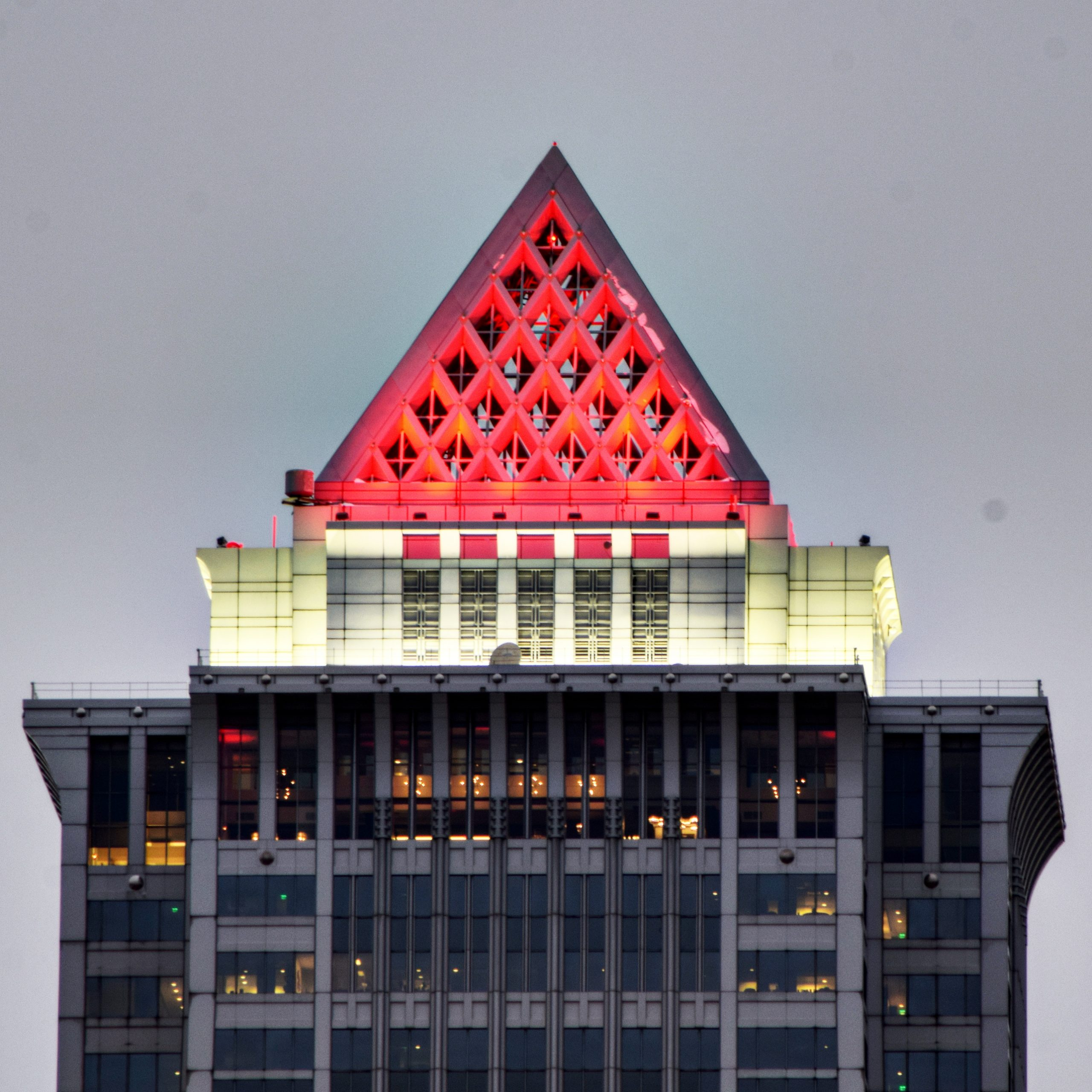Mellon Bank Center crown. Photo by Thomas Koloski