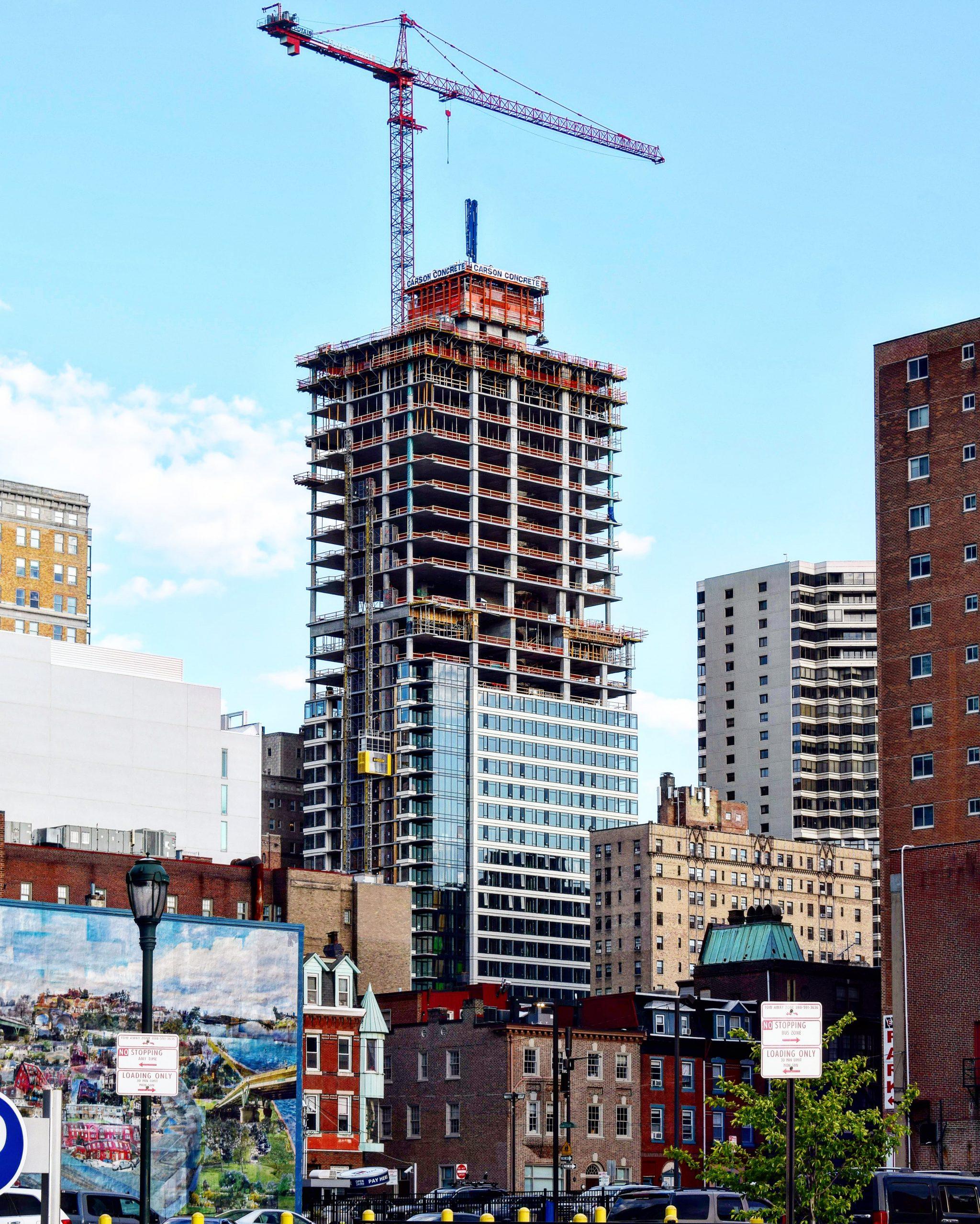The Laurel Rittenhouse Square from Market Street. Photo by Thomas Koloski