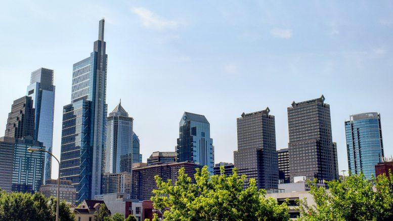 Commerce Square in the Philadelphia skyline. Photo by Thomas Koloski