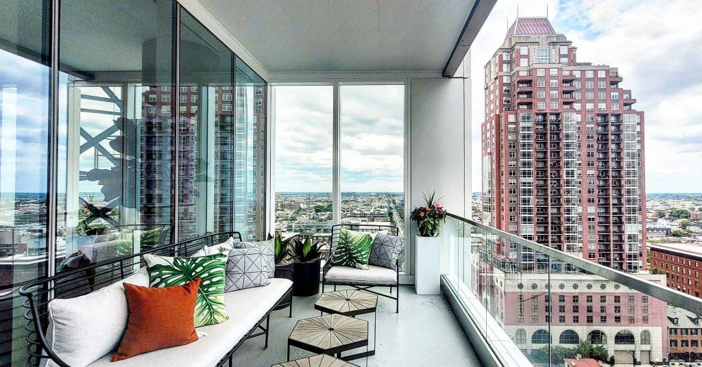 Second unit balcony. Photo by Thomas Koloski