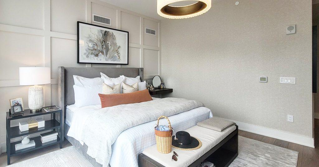 Second unit bedroom. Photo by Thomas Koloski
