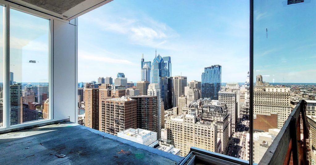 Balcony view from the 39th floor of Arthaus. Photo by Thomas Koloski