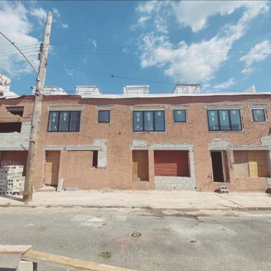 Current view of 2153-61 Salmon Street. Credit: Metropolitan Group Philly.