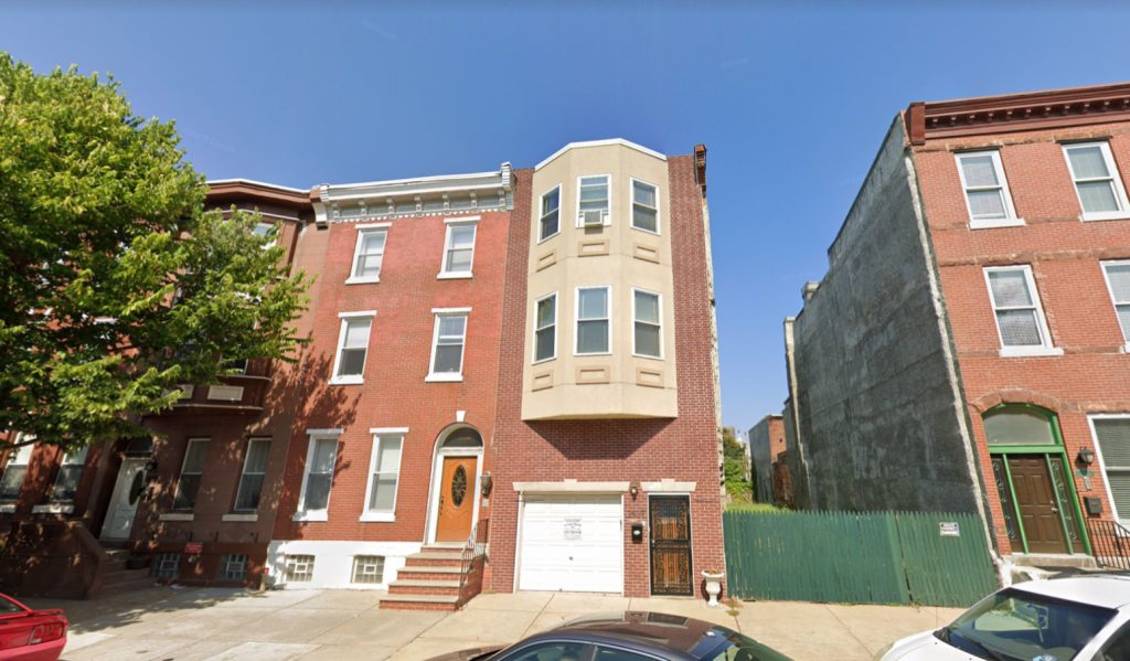 Former view of 1507 Christian Street. Credit: Google.