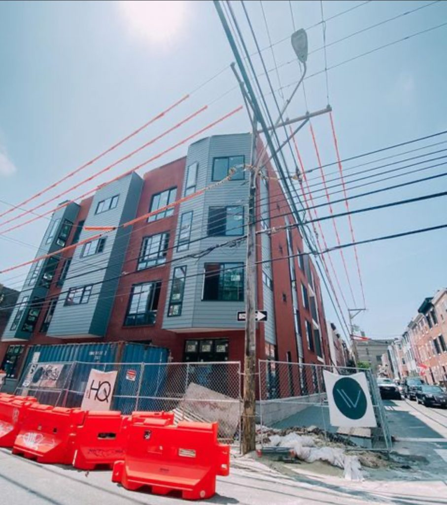 Current view of The HQ at 716 North 16th Street. Credit: Stamm Development Group.