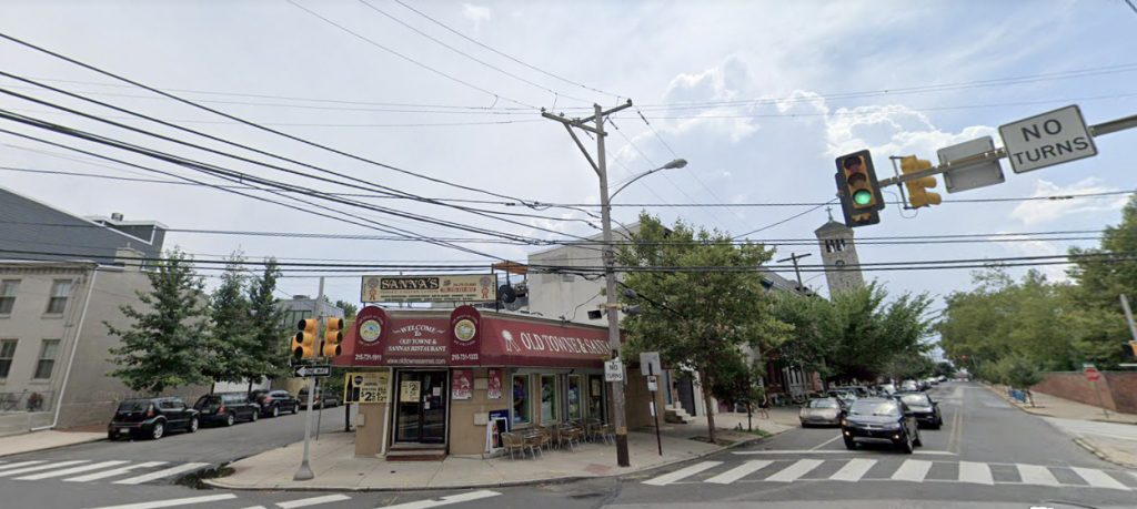 Former view of 2301 Grays Ferry Avenue. Credit: Google.