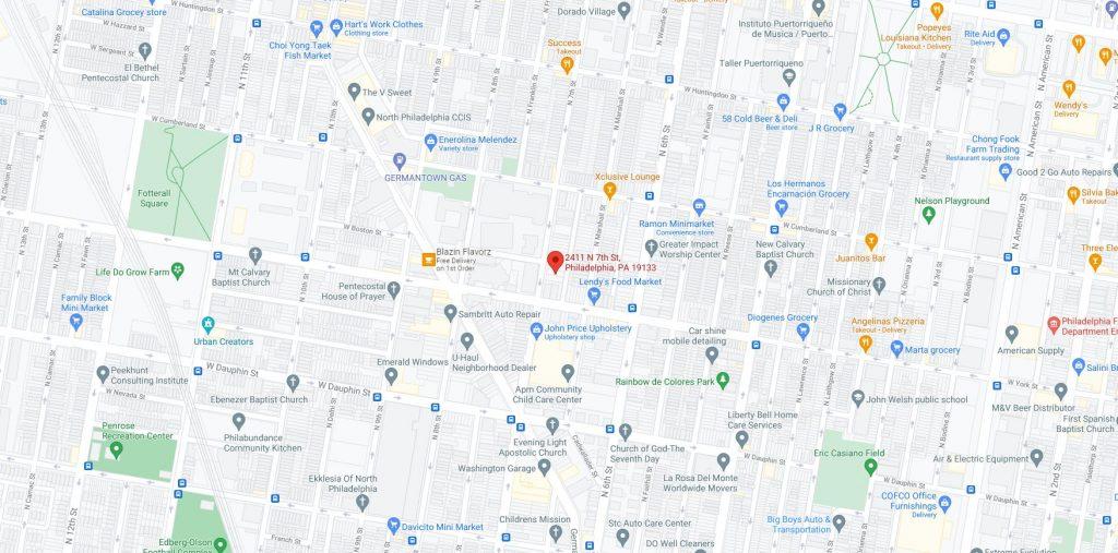 2411 North 7th Street. Credit: Google Maps