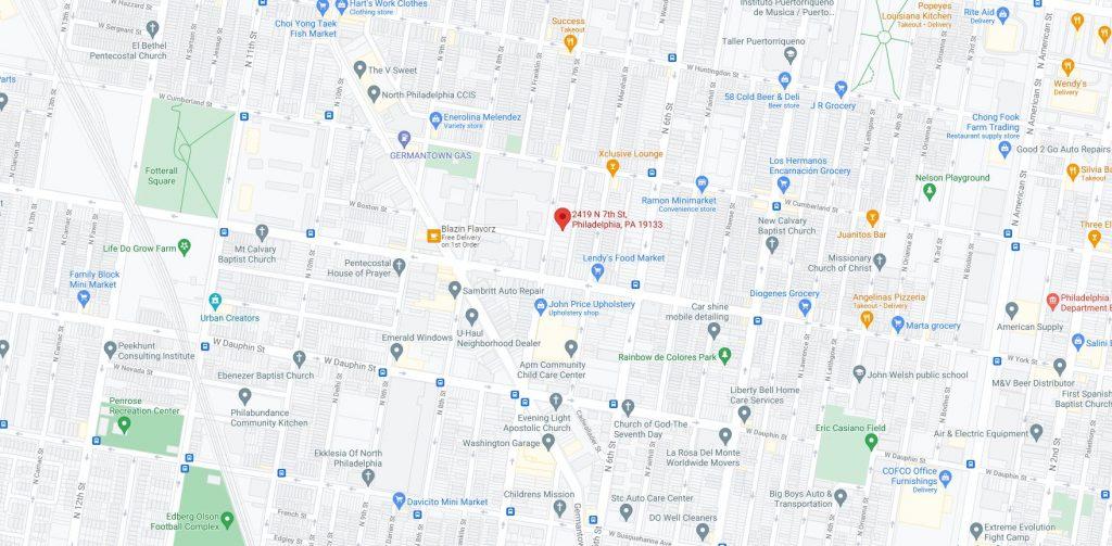 2419 North 7th Street. Credit: Google Maps