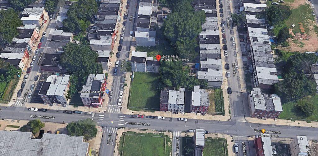 2509 North 7th Street. Credit: Google Maps