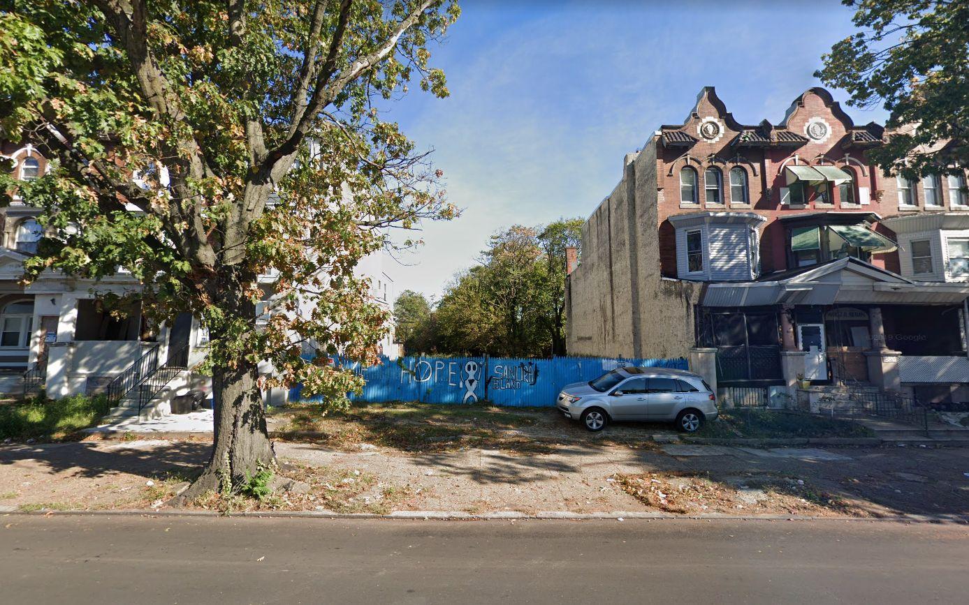 3849 North Broad Street. Looking east. Credit: Google Maps