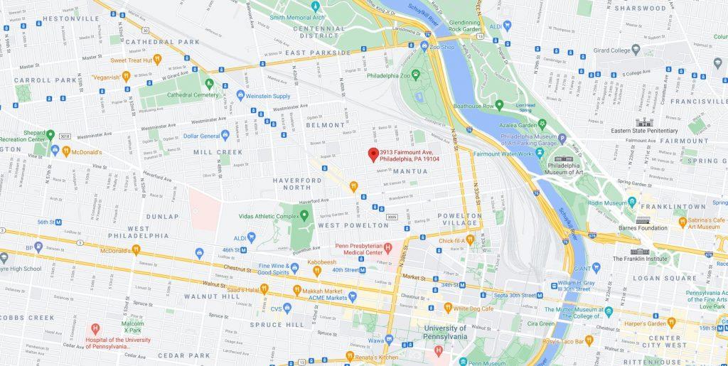 3913 Fairmount Avenue. Credit: Google Maps