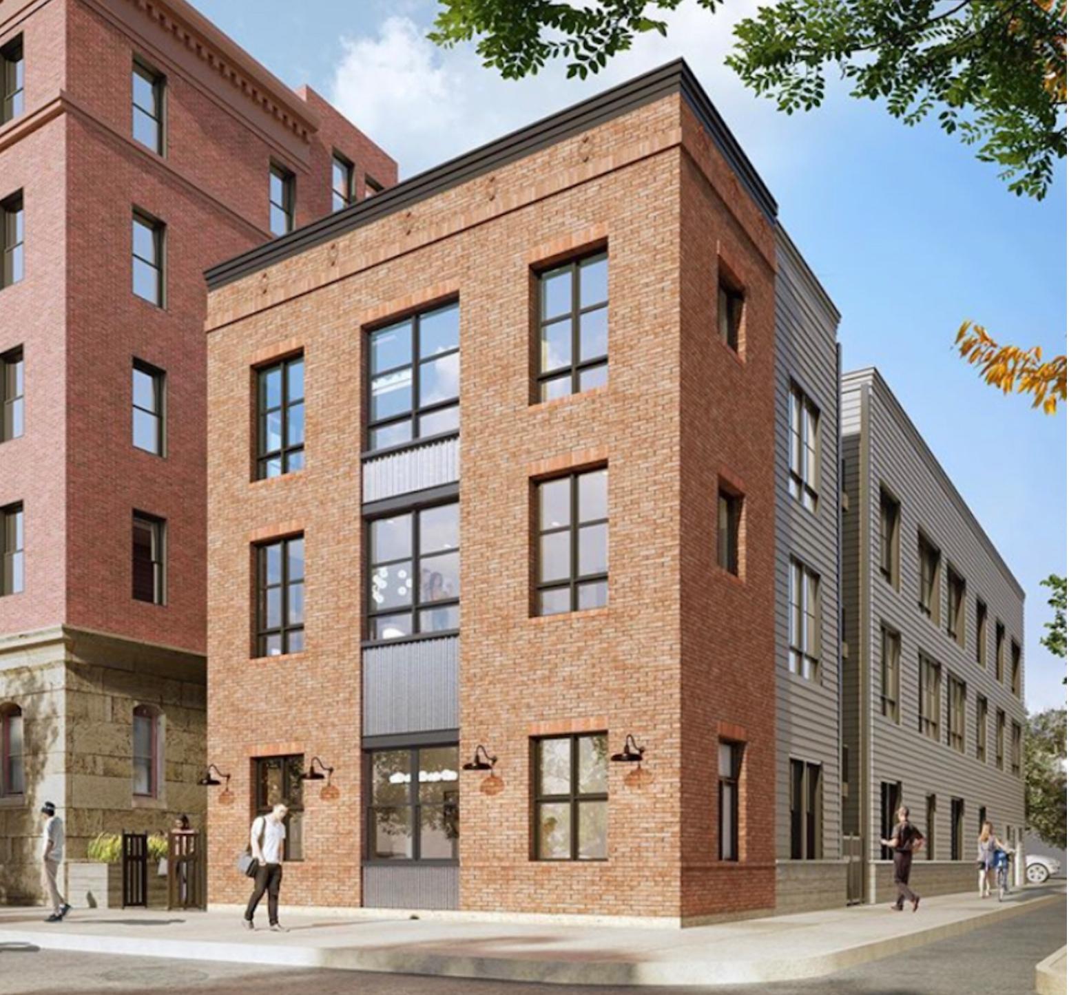 Rendering of 909 Corinthian Avenue via MM Partners.