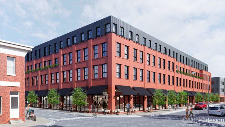 Rendering of 2601 Poplar Street. Credit: Canno Design.