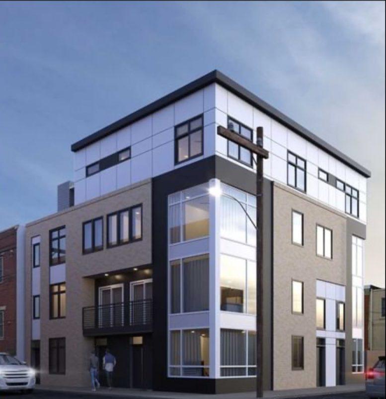 Rendering of 2628-32 Webster Street. Credit: DesignBlendz.
