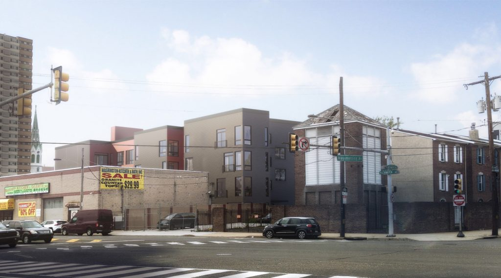 Rendering of 1015 South 3rd Street. Credit: HDO Architecture.