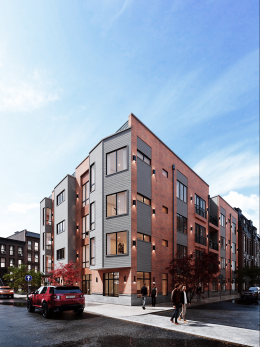Rendering of The HQ at 716 North 16th Street. Credit: Stamm Development Group.
