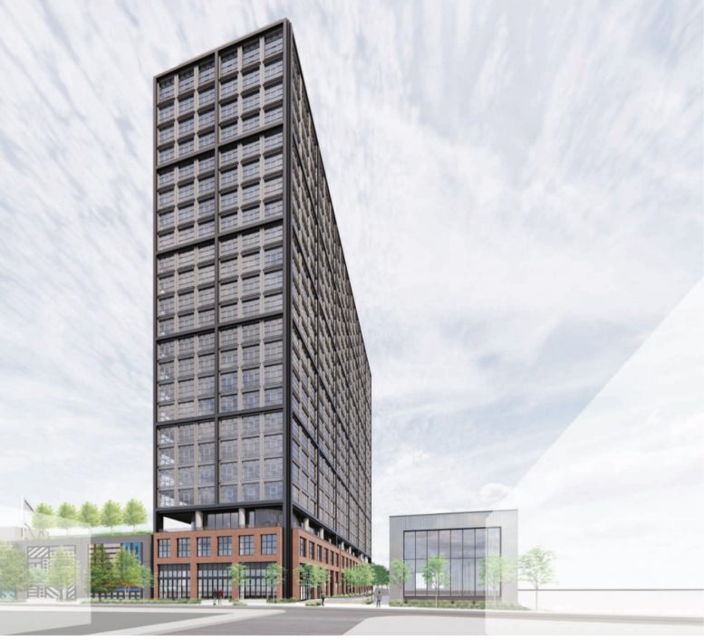 Rendering of 412 North 2nd Street. Credit: Morris Adjmi Architects.