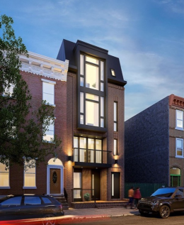 Rendering of 1507 Christian Street. Credit: Colin LeStourgeon.