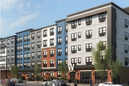 Rendering of Walnut View at Cityplace. Credit: City Center Allentown.