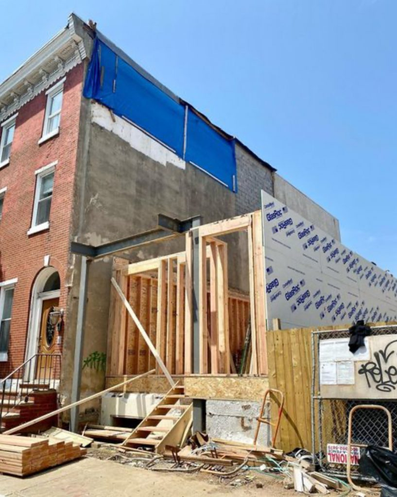 Current view of 1507 Christian Street. Credit: Zatos Investments.