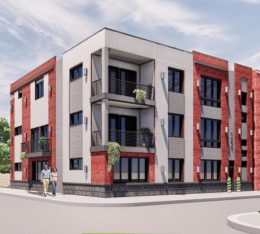 Rendering of 1630-34 North 20th Street. Credit: KCA Design.