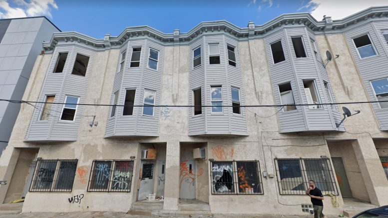 Current view of 3911-19 North 3rd Street. Credit: Google.