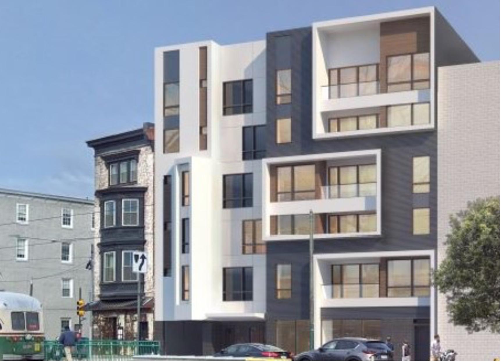 Rendering of 629 West Girard Avenue. Credit: RM Development.