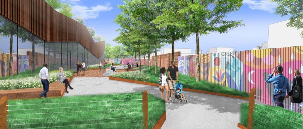 Rendering of 200 Spring Garden Street. Credit: Handel Architects.