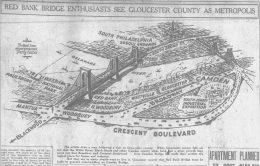 Philadelphia-Red Bank Bridge. Image via Courier Post