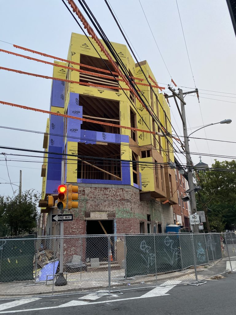 Current view of 2301 Grays Ferry Avenue. Credit: Colin LeStourgeon.