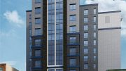 Rendering of 1428-38 Callowhill Street. Credit: J2a Architects.