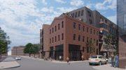 Rendering of 1700 Howard Street. Credit: Coscia Moos.