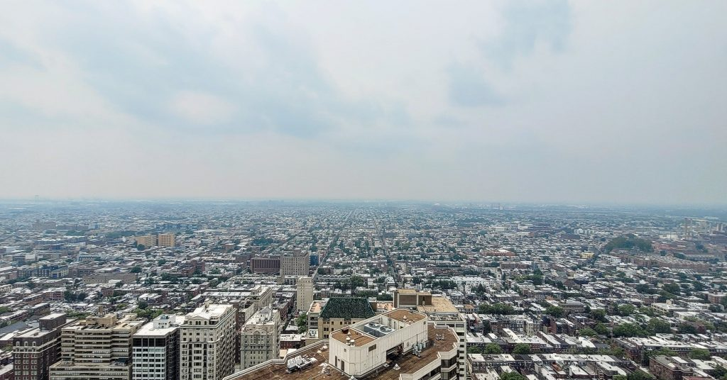The view from The Laurel Rittenhouse looking south. Photo by Thomas Koloski