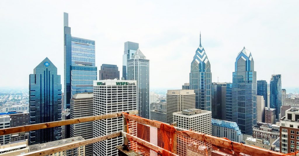 The view from The Laurel Rittenhouse looking northeast. Photo by Thomas Koloski