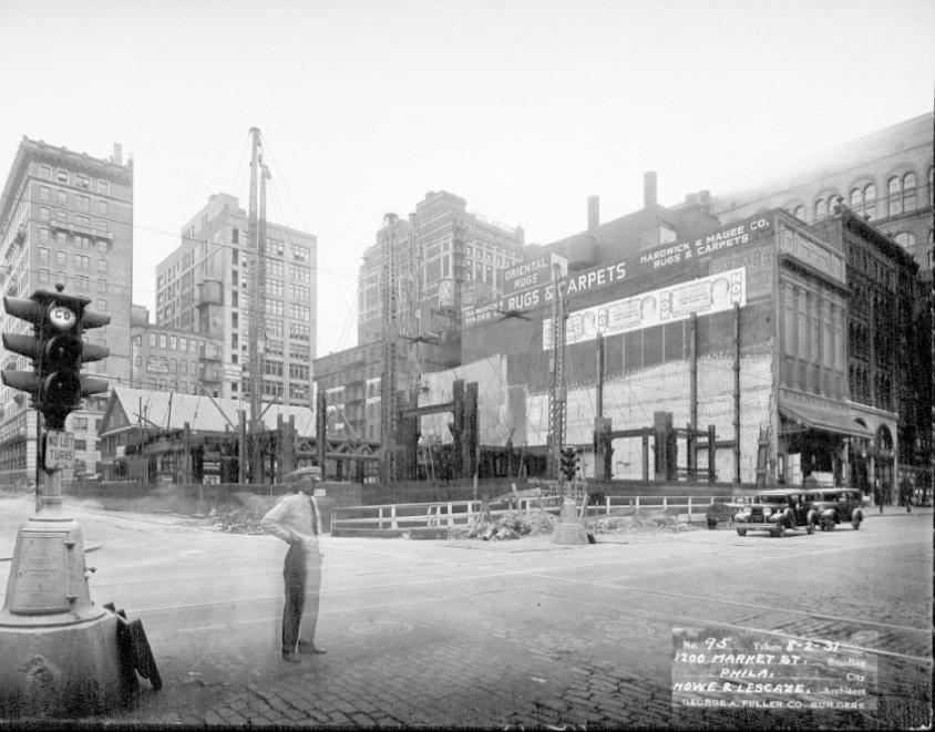 PSFS Building August 1, 1931. Image via Hagley Digital Archives