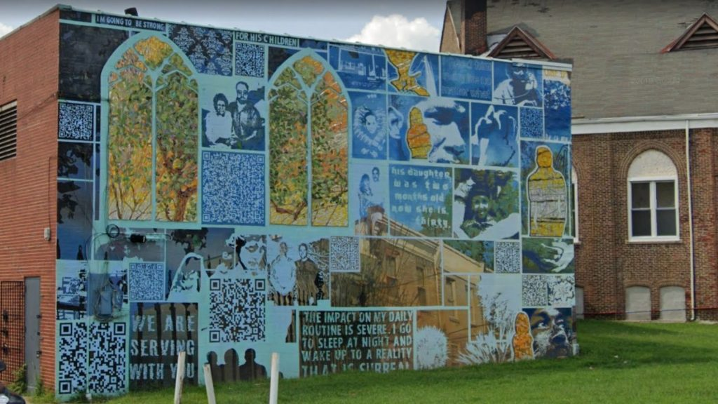 The mural at 709 West Dauphin Street. Credit: Google Maps