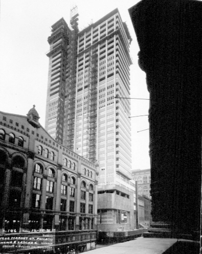 PSFS Building December 16, 1931. Image via Hagley Digital Archives