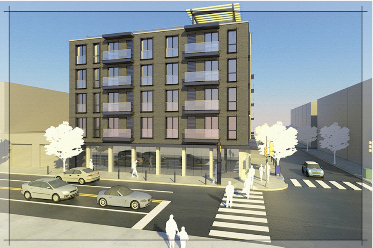 Rendering of 1868 Frankford Avenue. Credit: Drzal Architects.