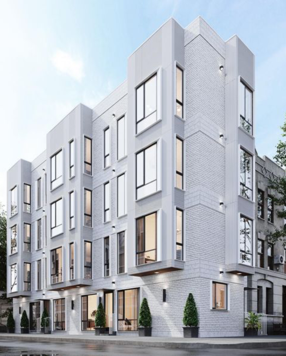 Rendering of 1754 Wylie Street. Credit: M Architects.