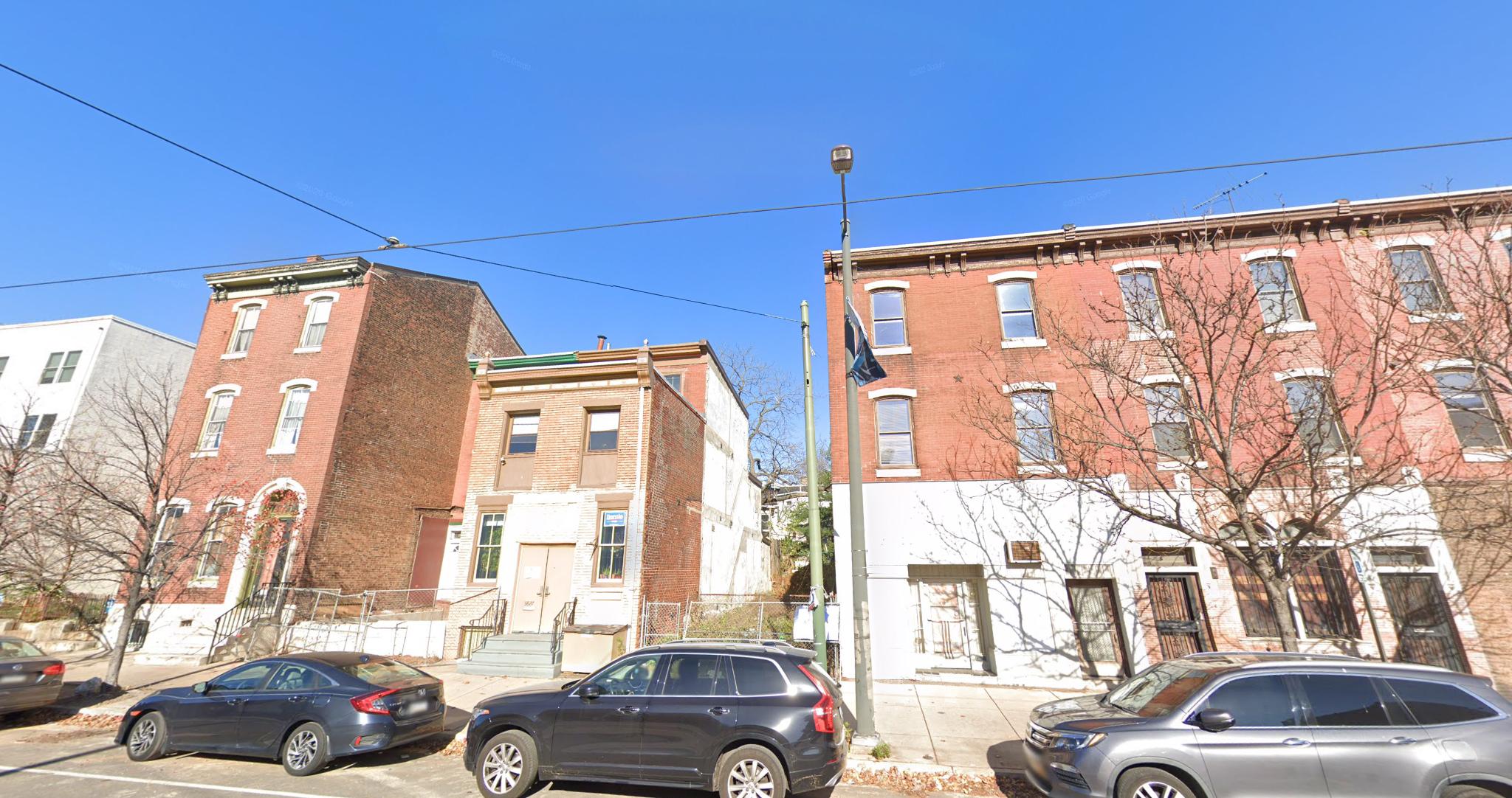 Current view of 3825 Lancaster Avenue. Credit: Google.