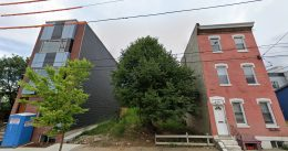 Current view of 522 West Berks Street. Credit: Google.