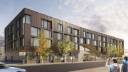 Rendering of The Block at SONO. Credit: ISA Architects.