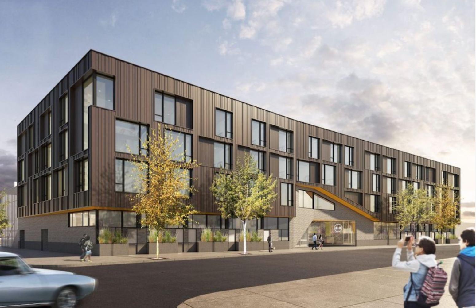The Block at SoNo at 456 North 5th Street. Credit: ISA Architects