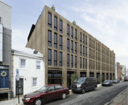 Rendering of 1408-18 East Oxford Street. Credit: Ambit Architecture.